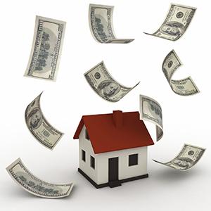 house floating money